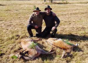 Jagen mit Freunden in Brandenburg